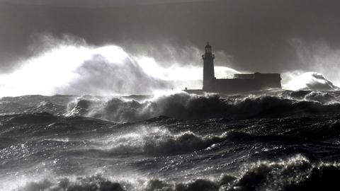 Leuchtturm Meer Küste Schottland
