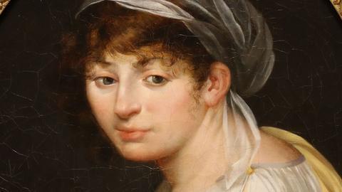 A.T. Dumilieu: Portrait von Madame Tallien, 1798, Musée Lambinet