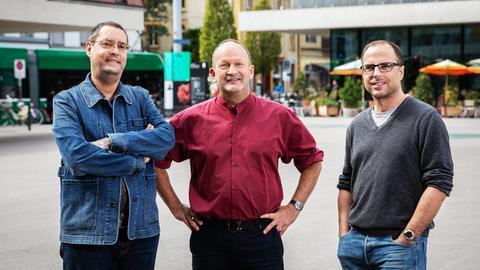 Matthias Berger, Gion Mathias Cavelty und Lukas Holliger