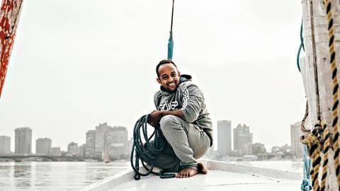 Nil Fluss Boot Ägypten