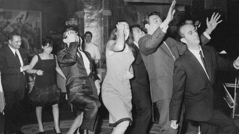 Tanzklub in Rom, 1962