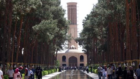 Turm Dowlat-abad' in Yazd im Iran
