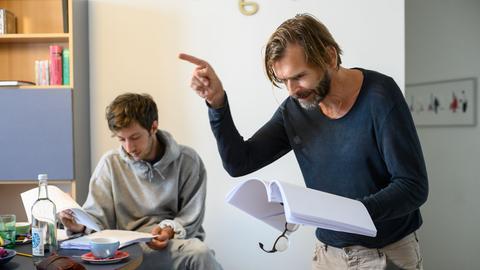 """Hörspielproduktion """"Der zweite Schlaf"""" - Max Mauff und Tonio Arango"""