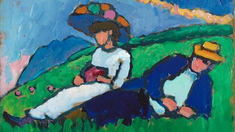 Gabriele Münter: Jawlensky und Werefkin, 1908/1909