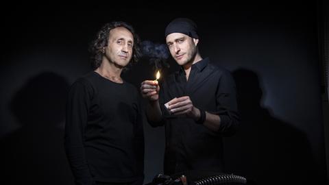 Luciano Biondini und Andreas Schaerer