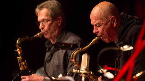 Christof Lauer & Heinz Sauer | hr-Jazzensemble