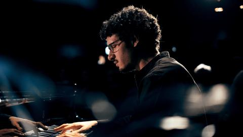 Der Pianist Felix Hauptmann