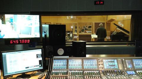 Werkbank vom hr-Jazzensemble
