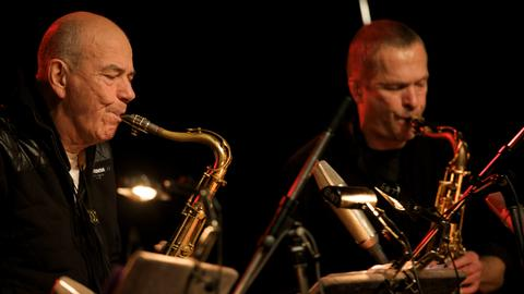 hr-Jazzensemble: Heinz Sauer und Christof Lauer