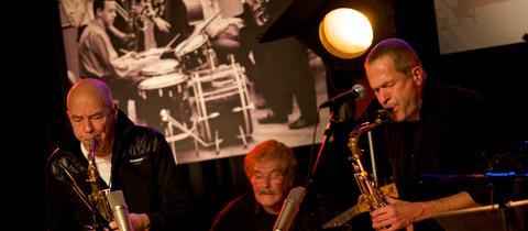 hr-Jazzensemble: Sauer, Lenz. Lauer