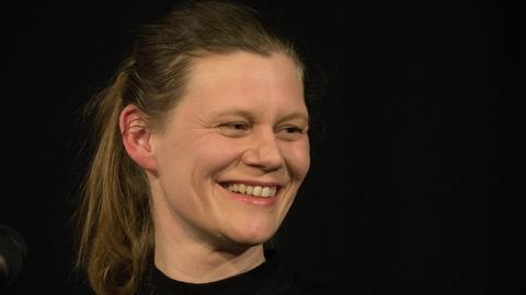 Lyrikerin und Roman-Autorin Kerstin Preiwuß