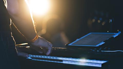 Keyboard elektronische Musik