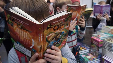 Kinder lesen