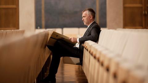 Der Komponist Bernd Franke