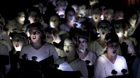 "Aufführung der ""Carmina Burana"" in Las Palmas auf Gran Canaria"