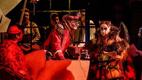 """""""Der Teufel auf Erden"""" Theater Chemnitz"""