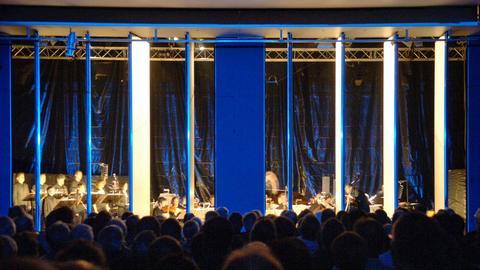 Orchesteraufführung auf den Donaueschinger Musiktagen