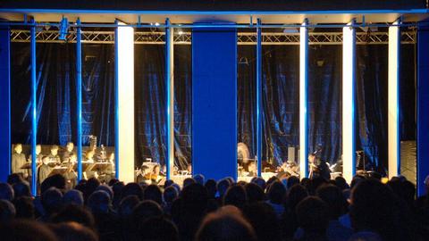 Aufführung auf den Donaueschinger Musiktagen