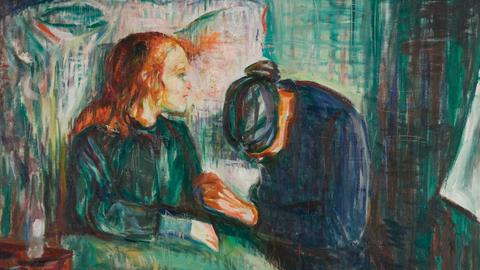 "Edvard Munch: ""Das kranke Kind"", 1927, Munch-Museum, Oslo"