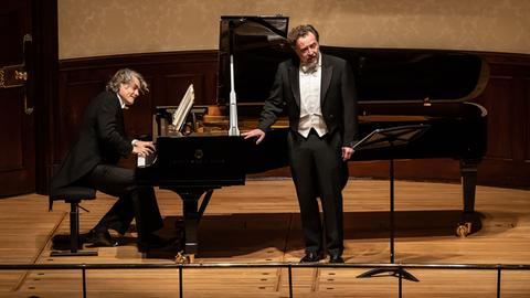 Gerold Huber und Christian Gerhaher