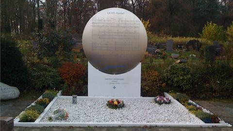 Das Grab von Karlheinz Stockhausen