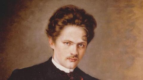 Gustav Jenner, Universitätsmusikdirektor in Marburg, Gemälde von Maria Fellinger
