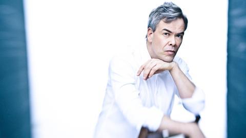 Der Dirigent Hannu Lintu