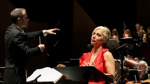 "Stadttheater Gießen ""Oberto"" Die Mezzosopranistin Manuela Custer"