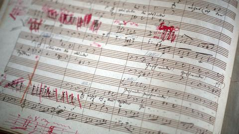 Beethoven-Partitur