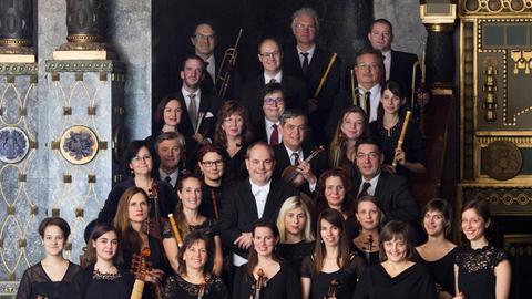 """Der """"Purcell Choir"""" und das """"Orfeo Orchestra"""" unter György Vashegyi"""
