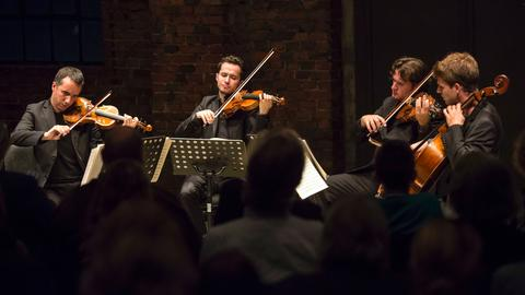 Das französische Streichquartett Quatuor Ébène