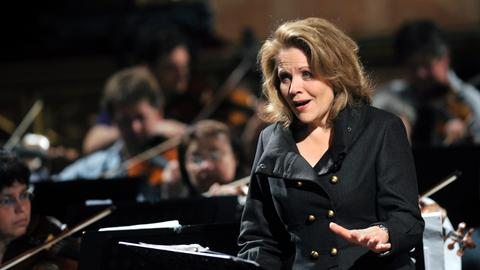 Die Sopranistin Renée Fleming