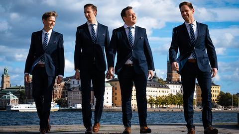 """Das """"Ringmasters Quartet"""""""