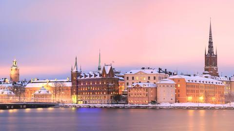 Stockholm: Blick über die Altstadt