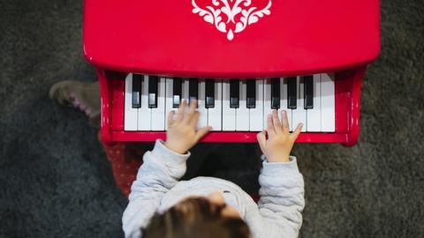 Toy piano Kinderklavier
