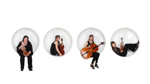 "Das ""Vertavo String Quartet"""
