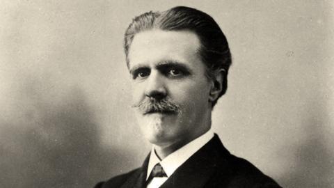 Der Komponist Vincent d'Indy