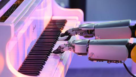 Klavier Roboter
