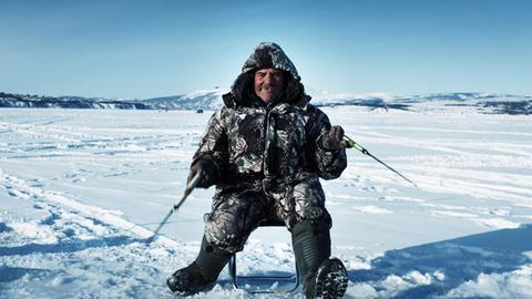 Kolyma 01.Angler in der Bucht von Magadan