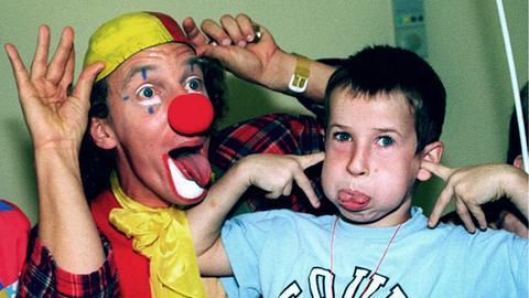 Krankenhaus Clown