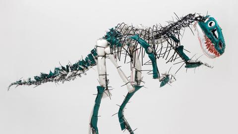 Dinosaurier Krause-Harder Atelier Goldstein Frankfurt