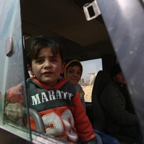 Kind im Krieg (Syrien)