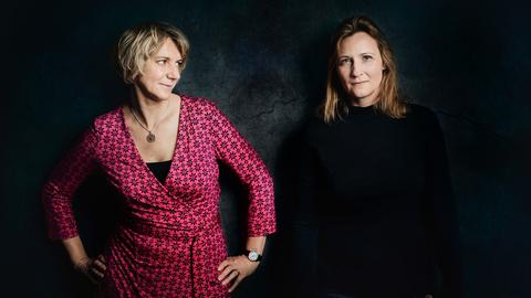 Miriam Semrau und Nicole Abraham