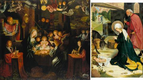 Bruyn d.Ä.,, 1493-1555: Geburt Christi