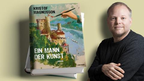 Kristof Magnusson Ein Mann der Kunst Mock Up