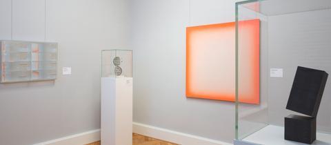 Ausstellungsansicht Sammlung Hilde Eitel im Kunstmuseum Marburg