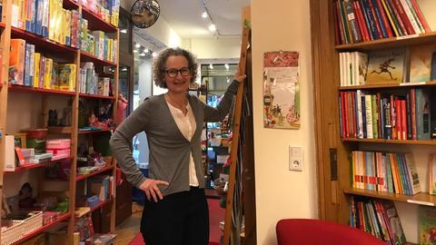 Anja Kronier aus der Buchhandlung Eselsohr in Frankfurt