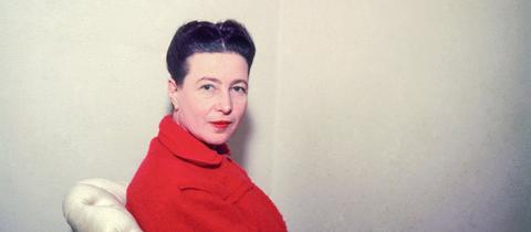 """Simone de Beauvoir / nur Verwendung hr2-Lesung """"Die Unzertrenntlichen"""""""