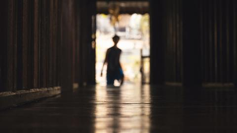 Tür Silhouette