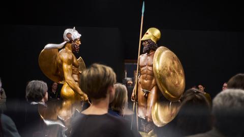 Liebieghaus Frankfurt: Bunte Götter - Die Bronzekrieger Riace A und Riace B